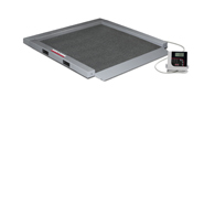 Rice Lake 350-5 Portable Bariatric Wheelchair Scale-Single Ramp